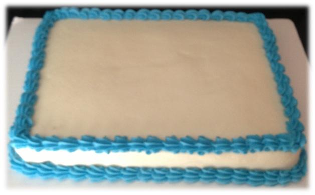 Fruit Sheet Cake