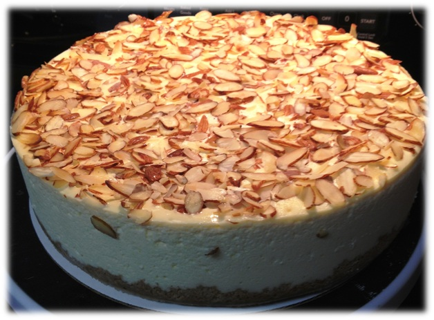 Amaretto Cheesecake2.JPGframed