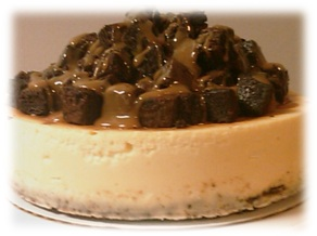 Caramel Brownie Delight Cheesecake2