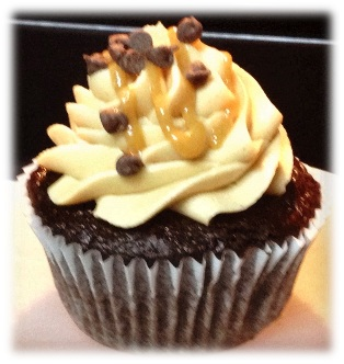 Chocolate peanutbutter cupcakes.JPGframed