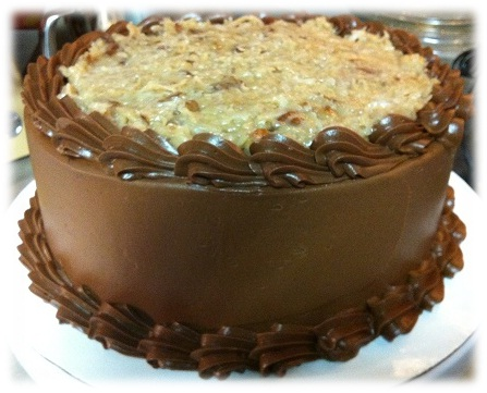 German Chocolate cake3.jpg framed