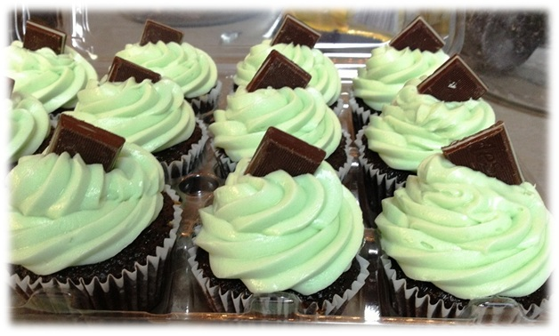 Mint Chocolate Cupcake newframed