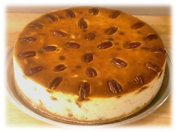 Praline Pecan Cheesecake3