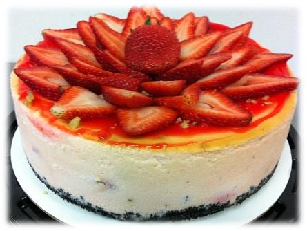 Strawberry Chocolate Chip Cheesecake.jpgframed