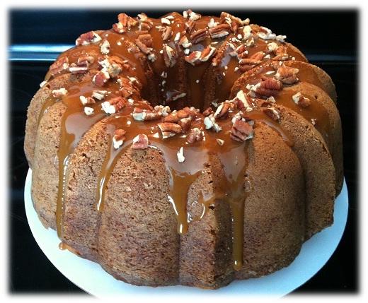 Chocolate Sweet Potato Pound Cake