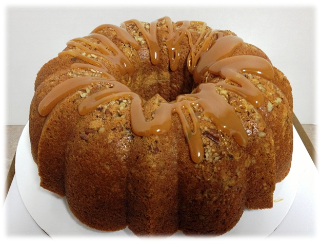 Cinnamon Pound Cake From Scratch