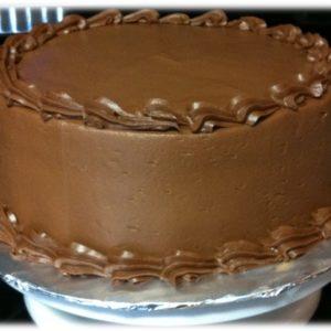 VEGAN Double Chocolate Cake