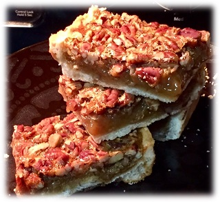 Pecan Bars-framed